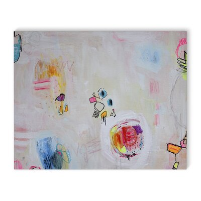 'Scribble' Painting Print on Canvas Size: 16