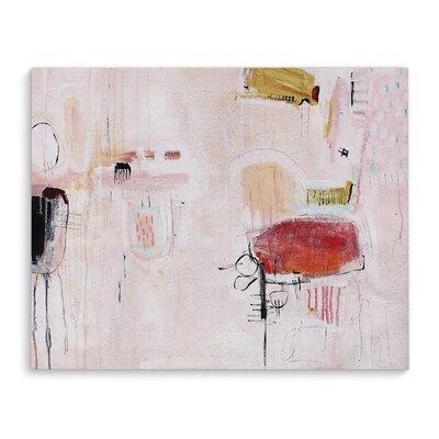 'Shabby Elegance' Painting Print on Canvas Size: 16