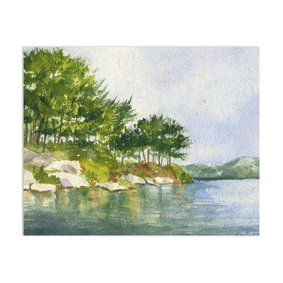 'Harriman Park' Watercolor Painting Print Size: 11