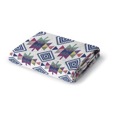 Elstone Triangles Woven Blanket Size: 50 W x 60 L