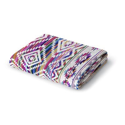 Blaisdel Stripes Diamonds Woven Blanket Size: 60 W x 80 L