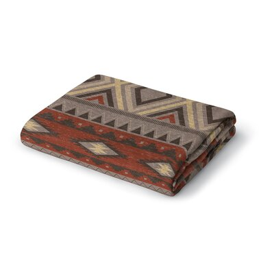 Cabarley Woven Blanket Size: 50 W x 60 L
