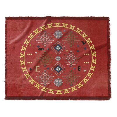 Eisley Woven Blanket Size: 50 W x 60 L