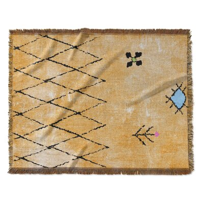 Emely Woven Blanket Size: 60 W x 80 L