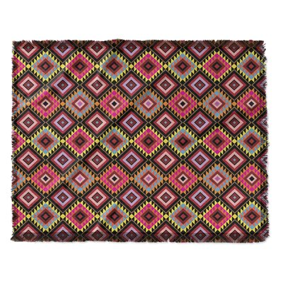 Elicia Blend Woven Blanket Size: 50 W x 60 L
