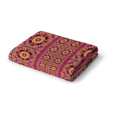 Georgeanna Woven Blanket Size: 50 W x 60 L