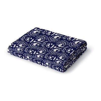 Elyssa Woven Blanket Size: 50 W x 60 L