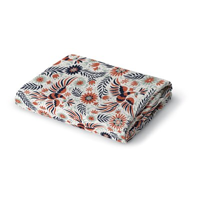 Geraldine Woven Blanket Size: 50 W x 60 L