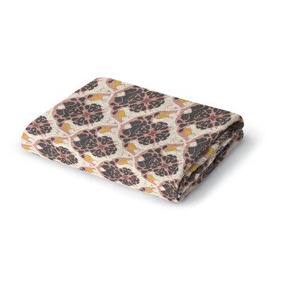 Ginnia Woven Blanket Size: 50 W x 60 L