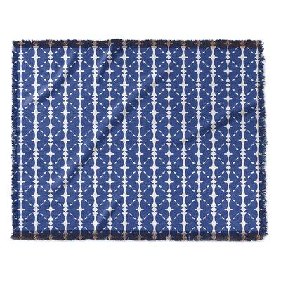 Demina Woven Blanket Size: 60 W x 80 L