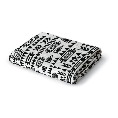 Foster Woven Blanket Size: 50 W x 60 L
