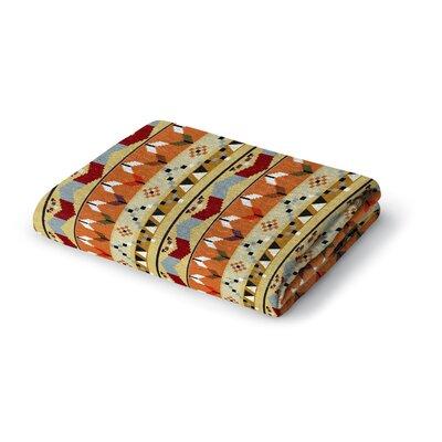 Devin Woven Blanket Size: 50 W x 60 L