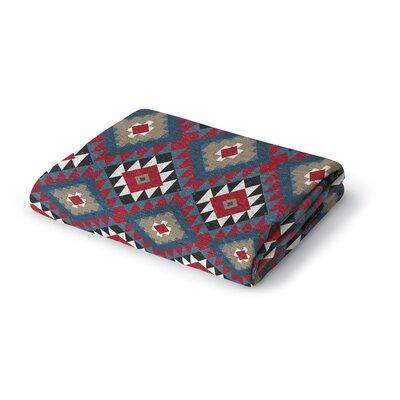 Diane Woven Blanket Size: 50 W x 60 L