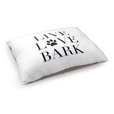 Live Love Bark Pet Bed Pillow