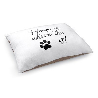 Home Is Where The Paw Is Pet Bed Pillow