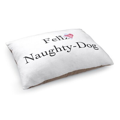 Feliz Naughty Dog Pet Bed Pillow