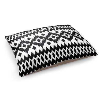 Wayz Pet Bed Pillow Color: Black/ White