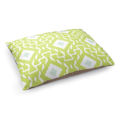Clementine Pet Bed Pillow Color: Green/Blue/White