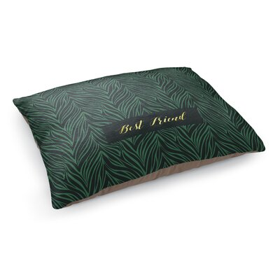 Best Friend Pet Bed Pillow Color: Green