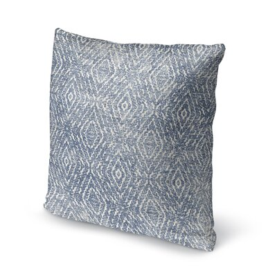 Byrine Destressed Accent Throw Pillow Size: 24 x 24