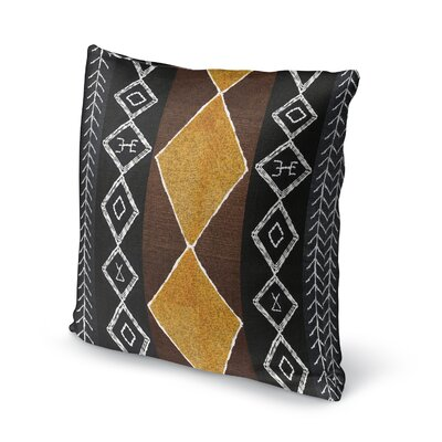 Cox Accent Throw Pillow Size: 18 x 18