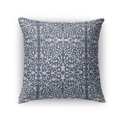 Elizebeth Throw Pillow Size: 18 x 18, Color: Gray