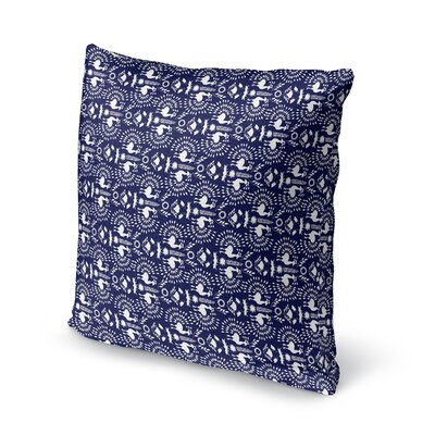 Deidra Accent Throw Pillow Size: 18 x 18
