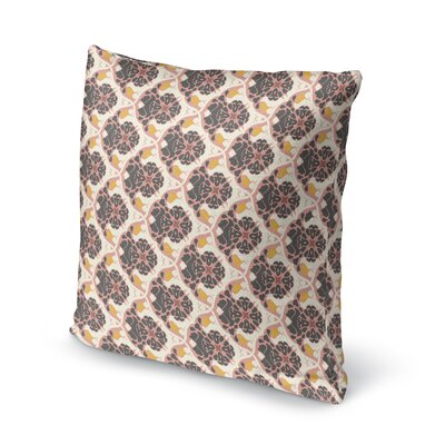 Ginnia Throw Pillow Size: 16 x 16