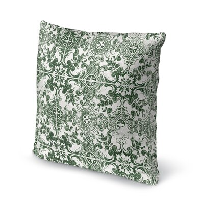 Felica Square Accent Throw Pillow Size: 18 x 18
