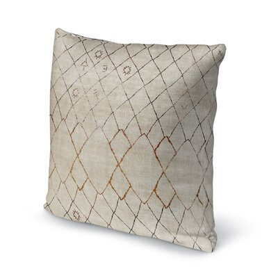 Domenica Accent Throw Pillow Size: 18 x 18