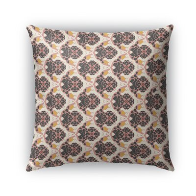 Ginnia Indoor/Outdoor Throw Pillow Size: 18 x 18