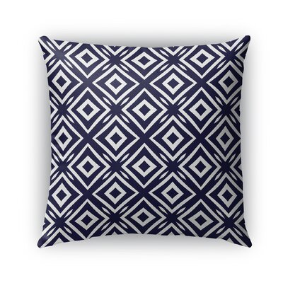 Corrine Square Indoor/Outdoor Throw Pillow Size: 18 x 18