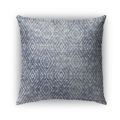 Byrine Destressed Indoor/Outdoor Throw Pillow Size: 16 x 16