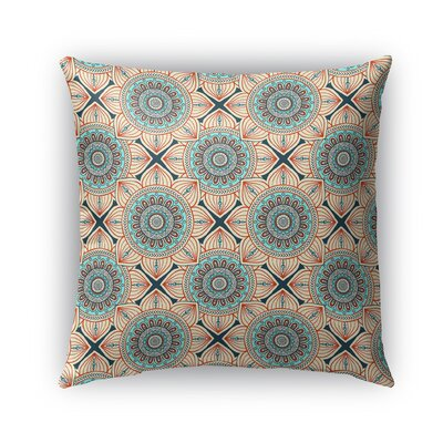 Galleria Bloom Outdoor Throw Pillow Size: 18 x 18
