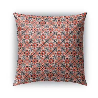 Glenoe Indoor/Outdoor Throw Pillow Size: 16 x 16