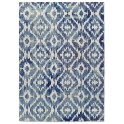 Christophe Blue Area Rug Rug Size: 2 x 3
