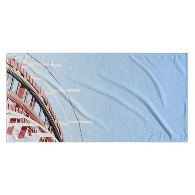Bayview Nautical Beach Towel
