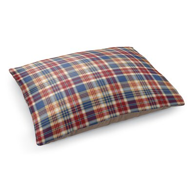Fall Plaid Pet Bed Pillow