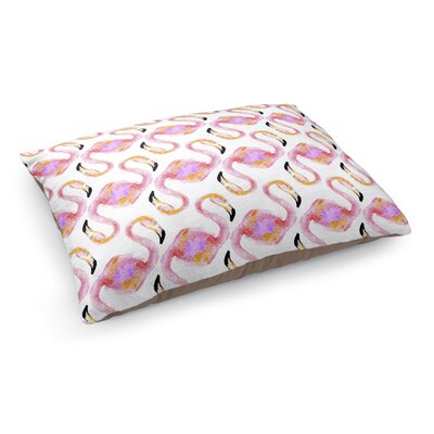 Flamingo Heads Pet Bed Pillow