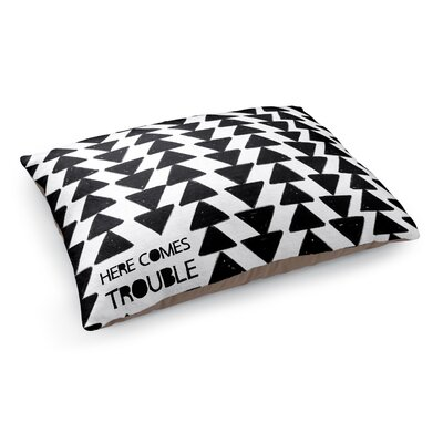 Here Comes Trouble Pet Bed Pillow
