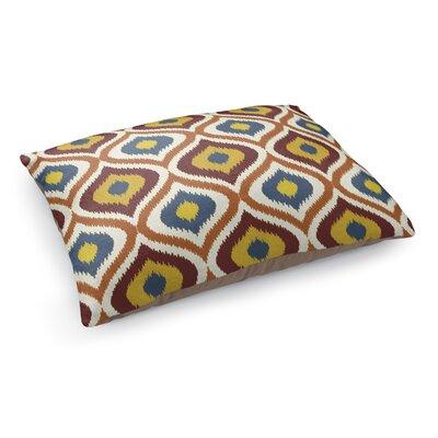 Ikat Ogee Pet Bed Pillow