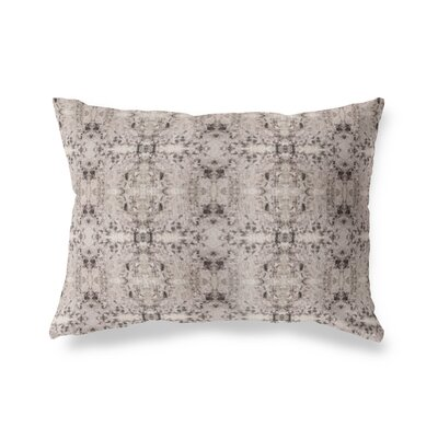 Henley Graphic Print Tile Outdoor Lumbar Pillow