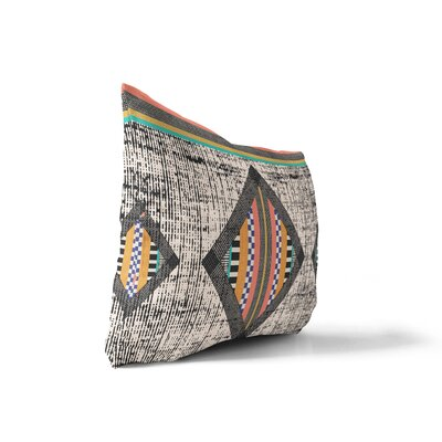 Wiggins Geometric Lumbar Pillow Size: 12 H x 16 W