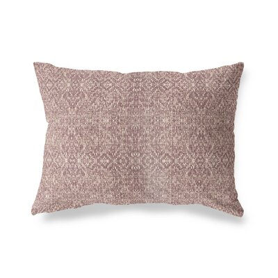 Conyingham Lumbar Pillow Size: 12 x 16, Color: Brown