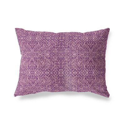 Conyingham Outdoor Lumbar Pillow Color: Purple