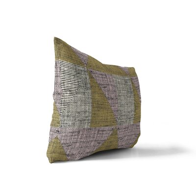 Copp Textured Triangles Lumbar Pillow Size: 18 x 24
