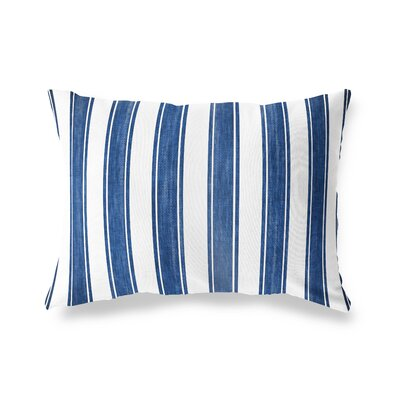 Ayleen Stripe Outdoor Lumbar Pillow