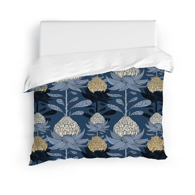 Sanibel Blossom Duvet Cover Size: King