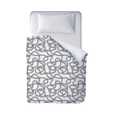 Charleigh Duvet Cover Size: Twin