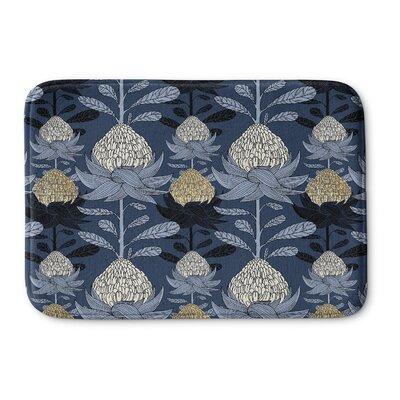 Elicia Blossom Memory Foam Bath Rug Size: 24 W x 36 L